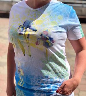 """Оформление одежды красками по ткани и трансферными картинками - Магазин """"Хоббилэнд"""""""