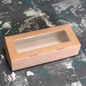 Коробка картонная с окошком, 170х75х45 мм - Упаковка