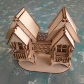 """Заготовка - чайный домик """"Двойной с балконами"""" - Чайные домики"""