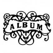 Силиконовых штамп ALBUM, 1 шт., 4,5х6см - Штампы
