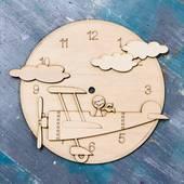"""Заготовка """"Часы с мальчиком"""", 24 см - Основы для часов"""