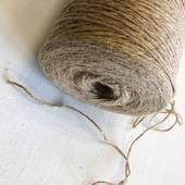 Шнур - бечевка, натуральная, 2 мм - Ленты, ткани