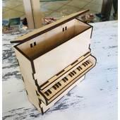 Шкатулка-пианино, 15*5*17 см - Шкатулки