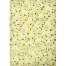 Бумага для скрапбукинга, 21 х 14,8 см, «Letter to Santa» - Односторонняя скрап бумага