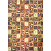Бумага для скрапбукинга, 21 х 29,7 см, «Letter to Santa» - Односторонняя скрап бумага