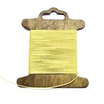 Шнур хлопковый вощеный, 1 мм - Ленты, ткани