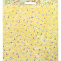 Бумага для скрапбукинга, 15 х 15 см, Матушка гусыня - Двухсторонняя скрап бумага