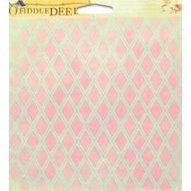 Бумага для скрапбукинга, 15 х 15 см, Воображение - Двухсторонняя скрап бумага