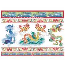 Декупажная карта «Китай», 30*50 см - Декупажные карты