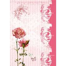 Декупажная карта «Розовые гвоздики», 30*50 см - Декупажные карты