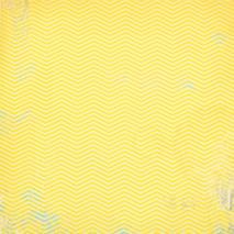 Бумага для скрапбукинга, 15 х 15 см, «C`est La Vie» - Односторонняя скрап бумага