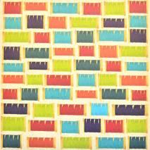 Бумага для скрапбукинга, 15 х 15 см, «Lovely» - Односторонняя скрап бумага