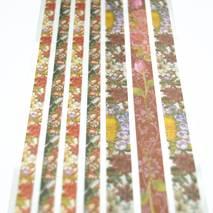 """Набор лент на клеевой основе """"Цветущий сад"""",7 шт., 8х29 см - Наклейки"""