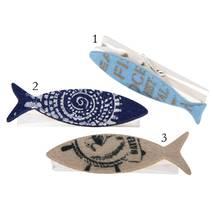 Прищепка с рыбкой из фетра, 8 см - Объемные элементы
