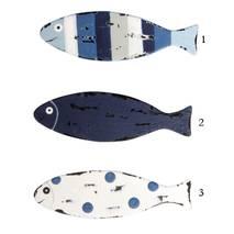 Металлическая рыбка, 1,5х5 см - Объемные элементы
