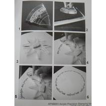 Акриловый блок для штампинга по кругу - Штампы