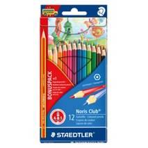 Набор цветных карандашей, 12 штук, Noris Club, STAEDTLER - Скетчинг