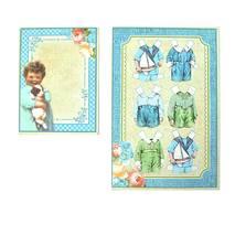 Набор карточек из коллекции «Precious Memories», 2 шт., 100х76 мм и 152х100 мм - Бумажные элементы