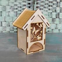 "Заготовка ""Чайный домик с бабочками"", 150х105х200 мм - Чайные домики"