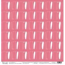 "Про лето - бумага из набора ""Мятное лето"", 30,5х30,5 см - Односторонняя скрап бумага"