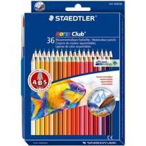Набор цветных акварельных карандашей, 36 штук, Noris Club, STAEDTLER - Скетчинг