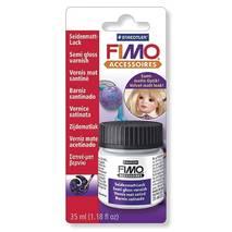 Лак для полимерной глины FIMO, полуматовый, 35 мл - Лаки и медиумы