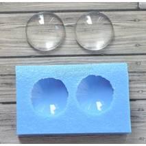 Молд набор круглых кабошонов 20мм - Для моделирования