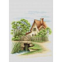 Набор для вышивания «Летний пейзаж», 18х20 см  - Вышивка