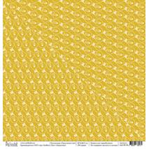 "Лампочки - бумага для творчества, ""Папа может всё"", 30,5х30,5 см - Односторонняя скрап бумага"
