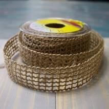 Сетка джутовая, 25 мм, 30 мм, 60 мм - Ленты, ткани
