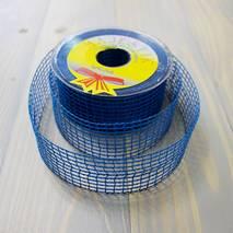 Лента-сетка цветная, 40 мм - Ленты, ткани