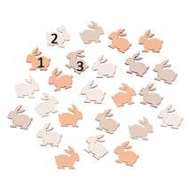 """Декоративный элемент """"Кролики"""", 1,7х1,6 см - Объемные элементы"""