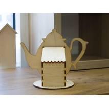 "Заготовка ""Коробочка для чая"", 80х80х200 мм - Чайные домики"