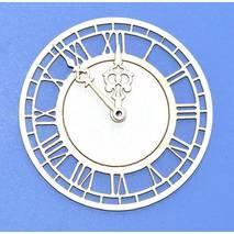 """Чипборд """"Часы"""", 7х10 см - Объемные элементы"""