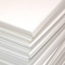 Картон белый пивной, 23х25 см - Картон