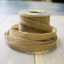 Лента джутовая, 10 мм, 16 мм, 25 мм, 38 мм - Ленты, ткани