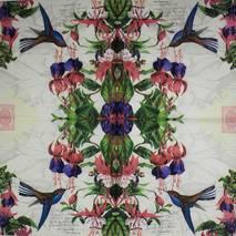 "Салфетка 33*33 см ""Калибри"" - Флора и фауна"