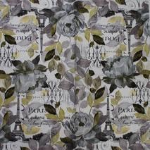 """Салфетка 33*33 см """"Серые цветы в Париже"""" - Флора и фауна"""
