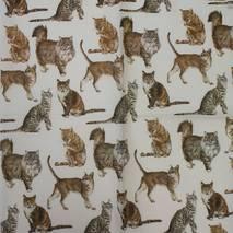 """Салфетка 33*33 см """"Котики"""" - Флора и фауна"""