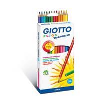 Карандаши полимерные, 24 цвета, ELIOS - Канцтовары