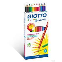 Карандаши полимерные, 12 цветов, ELIOS - Канцтовары