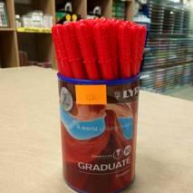 Ручка капиллярная, красная, LYRA GRADUATE FINE LINER - Инструменты