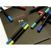 Альбом для рисования маркерами Delta Marker Pad, 70 г/м, 50 л., А4 - Альбомы