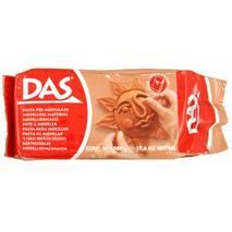 DAS паста для моделирования, упаковка 500гр, терракотовая - Самоотверд. полимерная глина