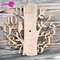 """Заготовка """"Часы - дерево"""" - Основы для часов"""