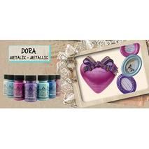 Краска-металлик для творчества Dora Metaliс Paint 50 мл - Акрил