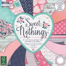 """Бумага для скрапбукинга """"Sweet Nothings"""", 15,2х15,2 см - Бумага для скрапбукинга"""