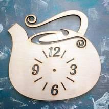 """Заготовка для часов """"Чайник"""" - Основы для часов"""