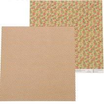 """Бумага для скрапбукинга, 29,5*29,5 см, """"Разноцветные листья"""", двухсторонняя Арт узор - Бумага для скрапбукинга"""