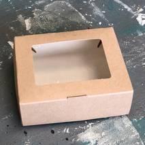 Коробка картонная с окошком, 100х80х35 мм - Упаковка